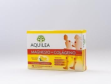 URIACH AQUILEA Magnesio + Colágeno 30 comprimidos masticables: Amazon.es: Salud y cuidado personal