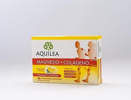 URIACH AQUILEA Magnesio + Colágeno 30 comprimidos masticables