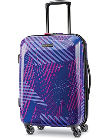 076ceb03f American Tourister Moonlight Expandable Hardside Luggage with Spinner Wheels