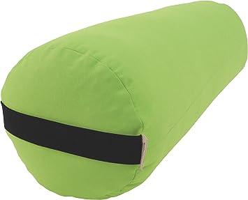 Bean Products Best Yoga Bolsters - Rectangle, Round or Pranayama Support Cushions - Meditation Zafu Massage Prop - Organic Cotton, Cotton, Hemp or ...