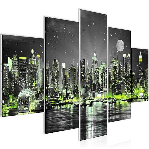 Amazon.de: Bilder New York City Wandbild 150 x 100 cm Vlies ...