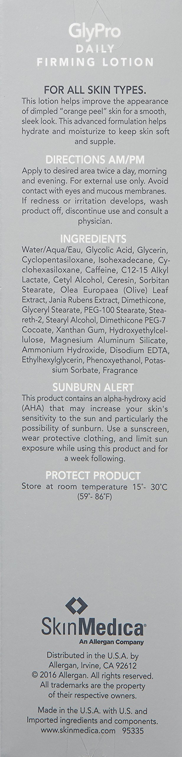 SkinMedica Glypro Daily Firming Lotion, 6 oz. by SkinMedica (Image #2)