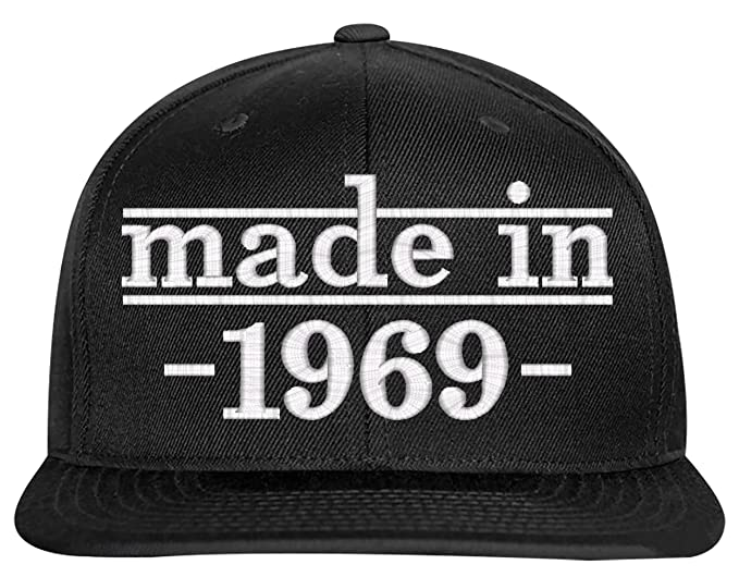 SNBCK 1969 50th Birthday Gift Made In Snapback Hat EM
