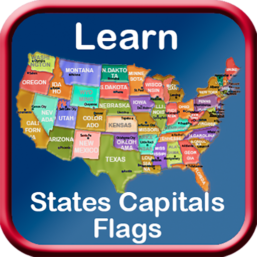 Learn United States of America Capitals Flags Map Puzzles Quiz History Details [Download]