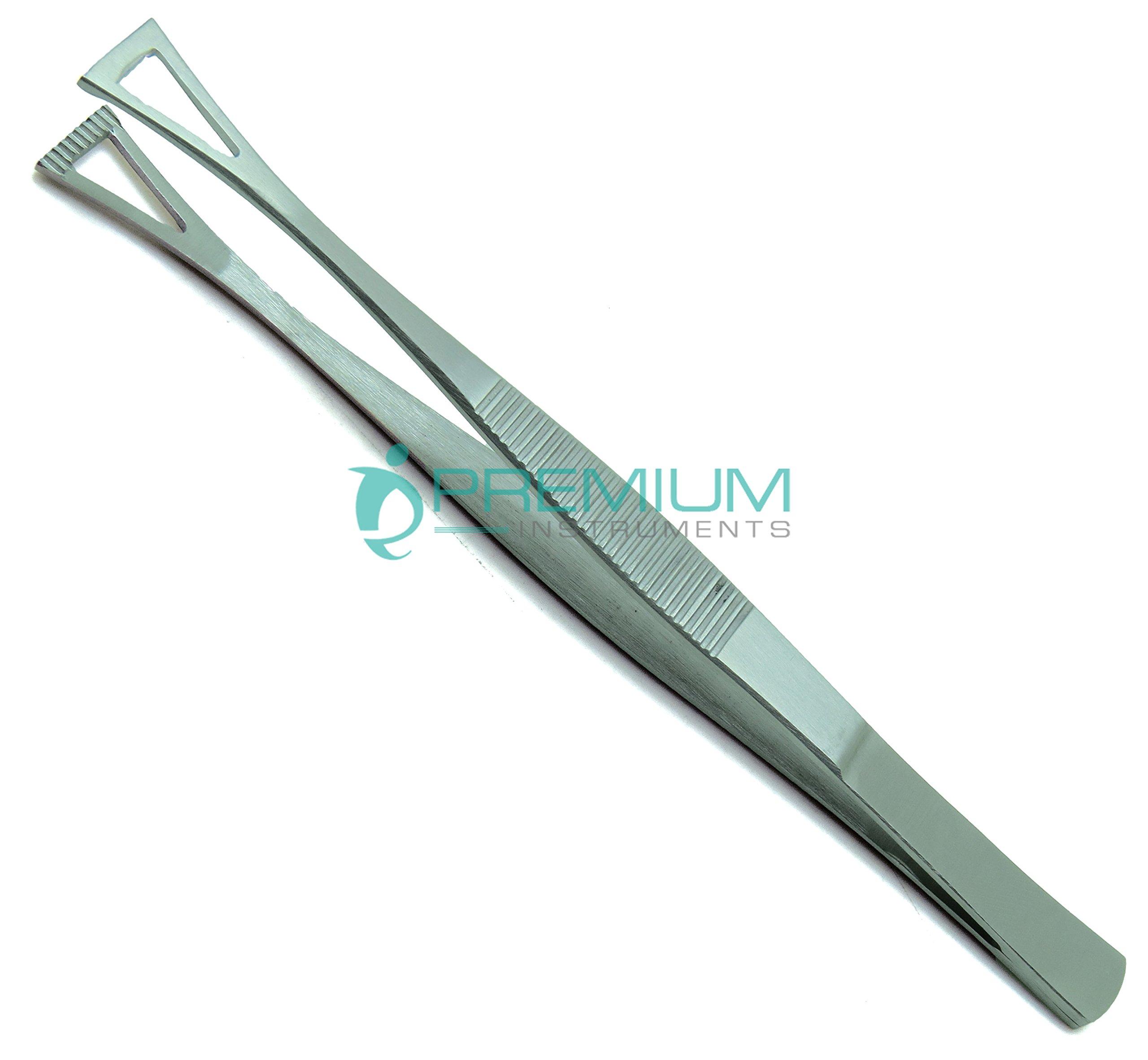 Collin Duval Tissue Forceps 15cm Body Piercing Tweezer Premium Instruments