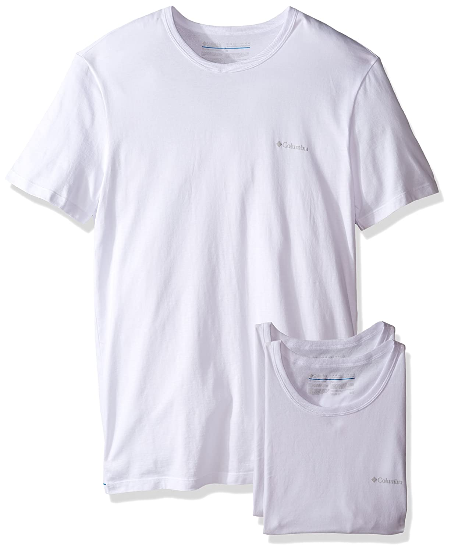 Columbia camiseta interior Hombre blanco Blanco/Blanco Small: Amazon.es: Ropa y accesorios