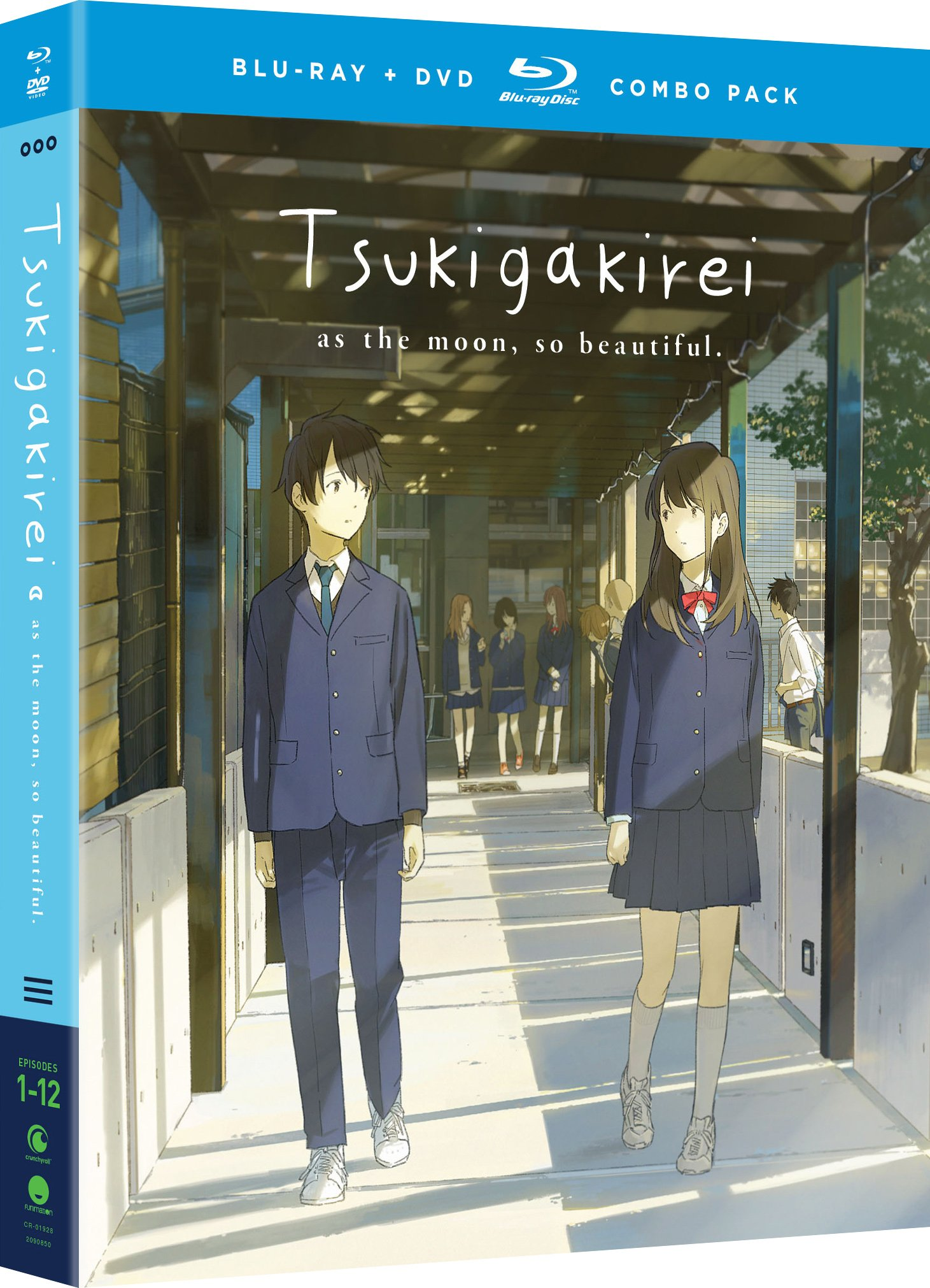 Blu-ray : Tsukigakirei: The Complete Series (With DVD, Boxed Set, Dubbed, Subtitled, 4PC)