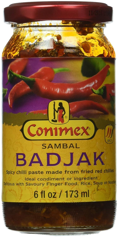 Conimex Sambal Badjak, Pasta Picante de Chile, 200 g: Amazon.es: Alimentación y bebidas