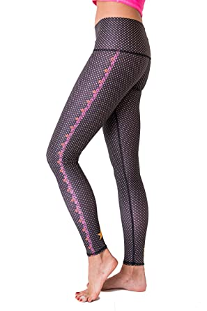 72aab8f83e6bc Teeki Women's Legging Hot Pant, Polka Dot Cowgirl (Black), Extra Small