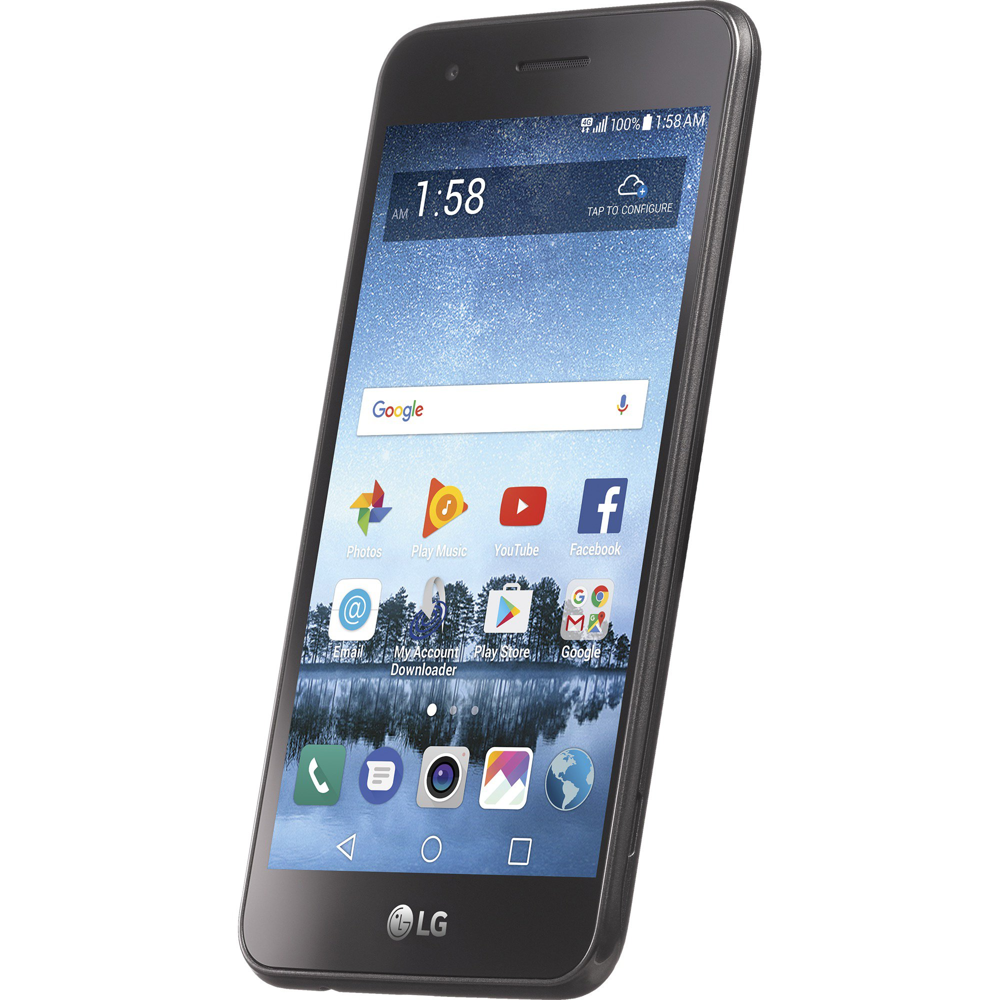 Net10 LG Rebel 3 4G LTE Prepaid Smartphone with Free $40 Airtime Bundle by TracFone (Image #7)