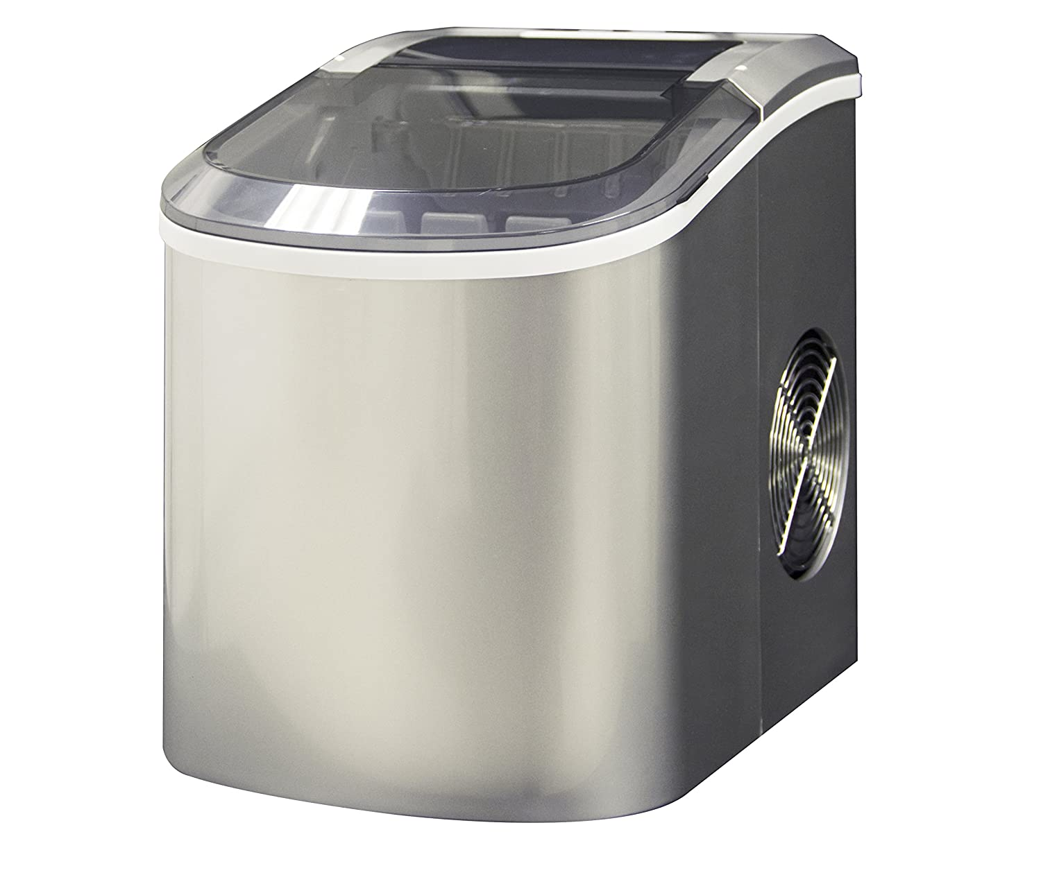 Premium Portable Ice Maker by Glaros for Counter Top - Makes 26 lbs of ice per 24 hours SG Merchandising Solutions Inc.
