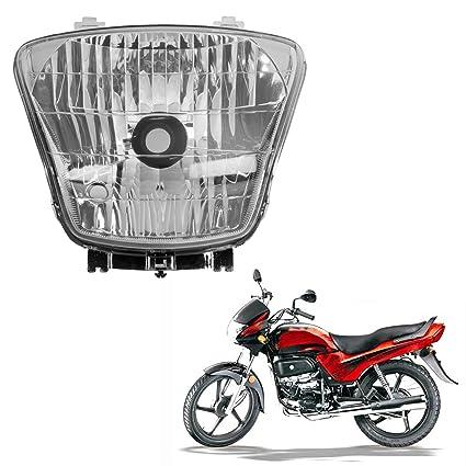 Autofy Headlight Assembly For Hero Honda Passion Plus (Single Unit