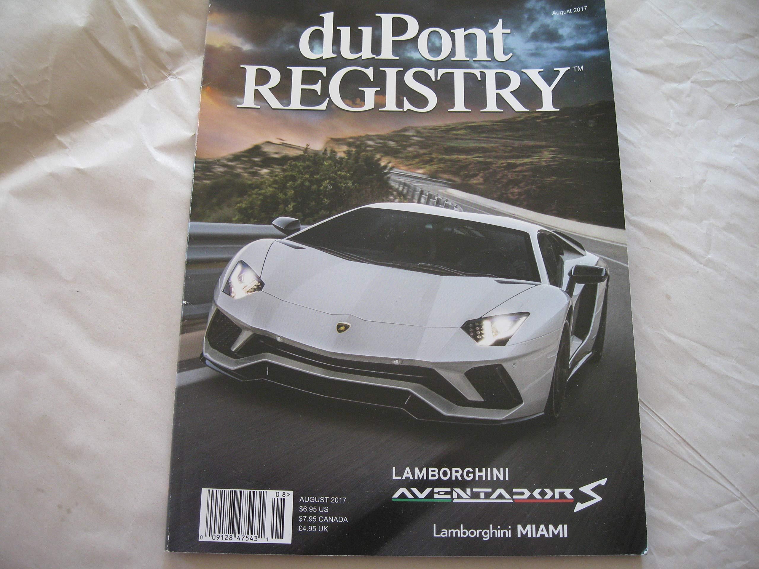 Dupont Registry Autos August 2017 Dupont Registry Amazon Com Books