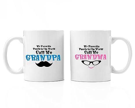 Amazon.com: El Abuelo & Abuela Mis favoritos Premium 11oz ...