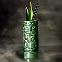 bar@drinkstuff De cerámica Verde Tiki Taza ml/300ML–cerámica Hawaiano