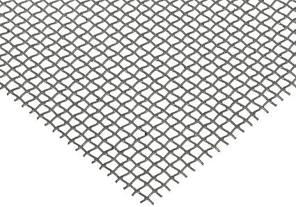 Amazon Com Steel Woven Mesh Sheet Zinc Galvanized Finish 12 Width 12 Length 0 018 Wire Diameter 51 Open Area Industrial Scientific