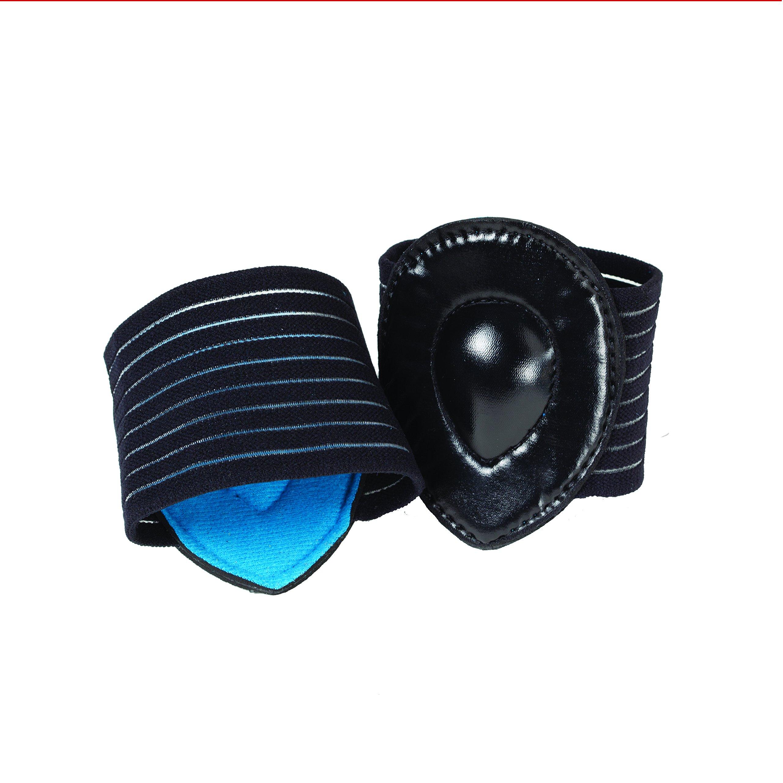 Strutz Pro-Cushioned Arch Supports Black by Strutz