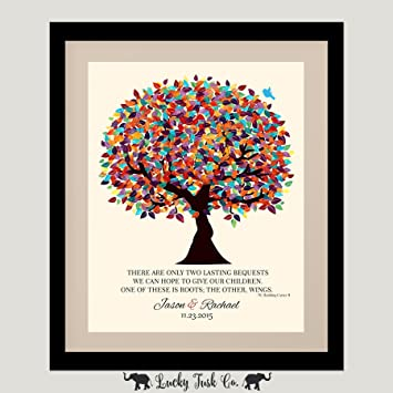 Amazoncom 8x10 Unframed Personalized Gift For Parents Hodding