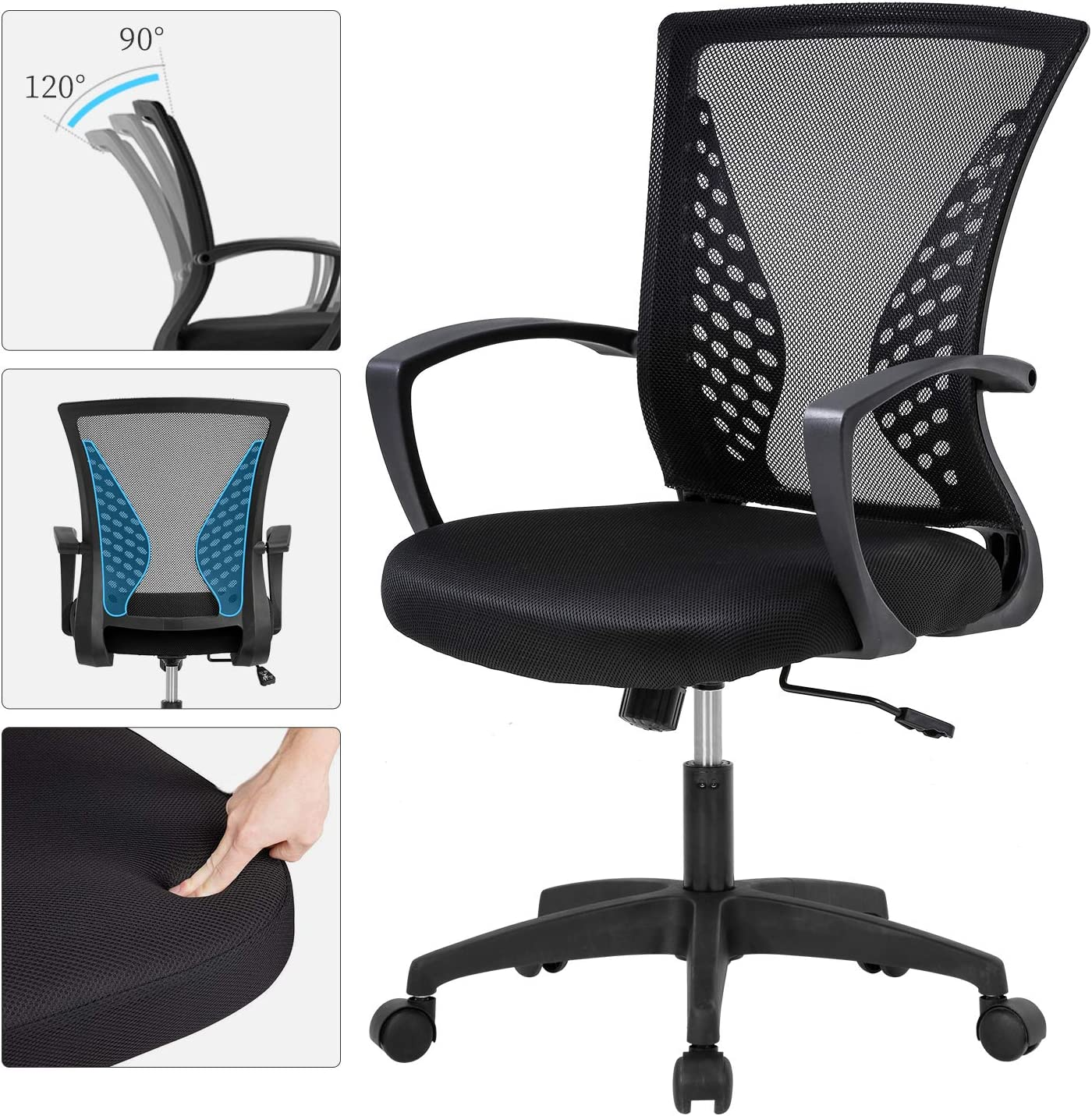 Home Office Mid Back Chair