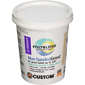 NSG1221-4 Polyblend Non Sanded Grout