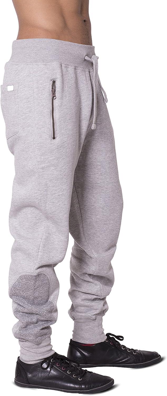 Homme Polyester Contraste Survêtement Style Slim Fit Pantalon De Survêtement Bas Sweat À Capuche Panneau
