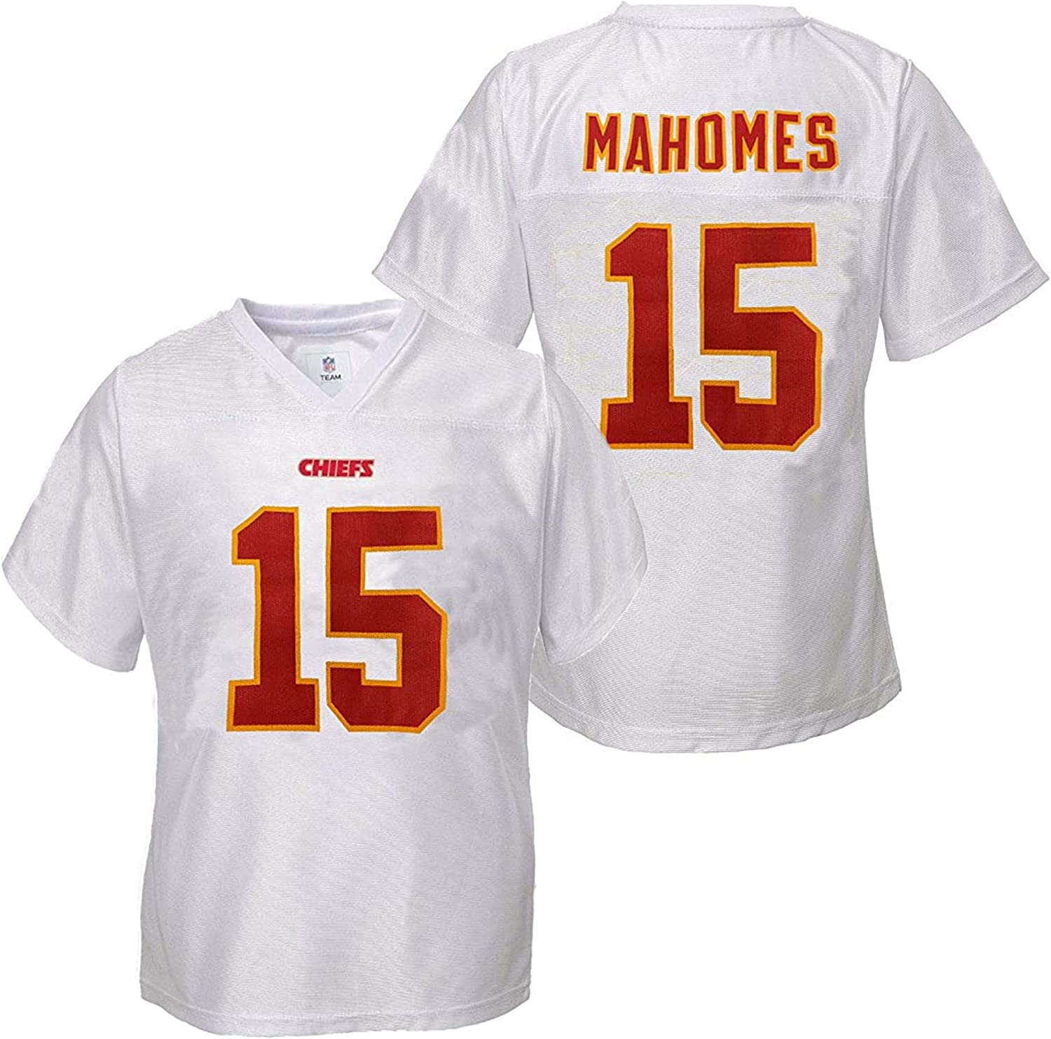 Outerstuff Patrick Mahomes Kansas City Chiefs #15 Red Youth Player Home Jersey