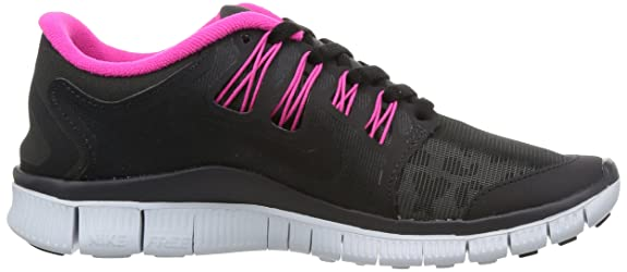 sports shoes 3d5f2 8bc74 Amazon.com   Nike Women s Free 5.0+ Shield Running Shoes (12 B(M) US, LEOPARD  SHIELD-DRK CHRCL BLACK-PINK GLOW-PR PLTNM)   Road Running
