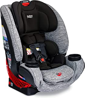 product image for Britax One4Life ClickTight All-In-One Car Seat – 10 Years of Use – Infant, Convertible, Booster – 5 to 120 Pounds, Spark Premium Soft Knit Fabric [Amazon Exclusive]