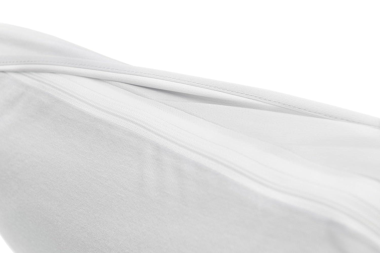 BSensible Tencel Funda de almohada protectora impermeable y transpirable Blanco 70 x 40: Amazon.es: Hogar