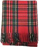 Highland scozzesi tartan tweed 100% lana tartan coperta/tappeto 11Tartans disponibili Royal Stewart