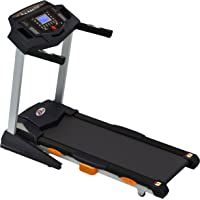 Durafit Heavy hike 2.5HP (Peak 5.0 HP) Motorized Foldable Treadmill with Auto-Incline
