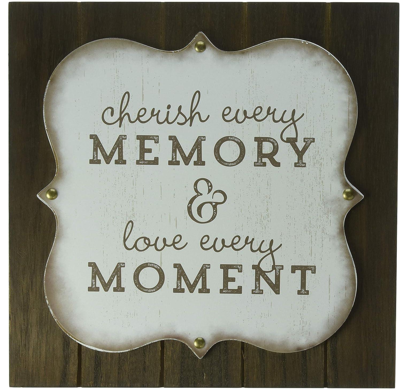 Walnut Malden 20126-12 Memory//Moments Sign