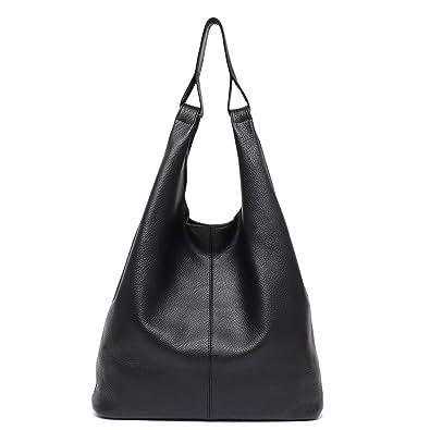 03231bb39b57 Women s Hobo Handbag STEPHIECATH Luxury Italian Genuine Leather Slouchy Shoulder  Bag Large Casual Handmade Tote Vintage