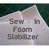 100cm x 150cm Sew in Foam Stabilisers for Bag Making