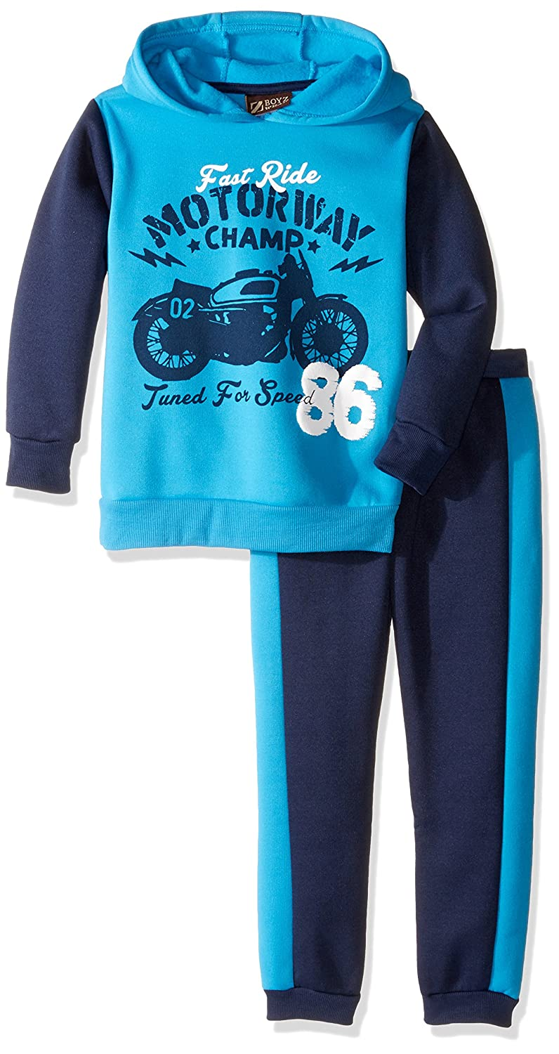 BoyzWear Boys 2 Piece Pullover Hoodie and Jogger Pant Set CAN BoyzWear 5CZ6522