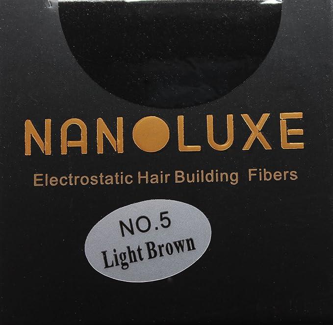 Corrector en polvo, de Nanoluxe, para fibras de cabello de color marrón claro, 25 g: Amazon.es: Belleza