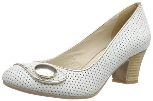 Cuero Virus De Zapatos Tacã³n Marfil Mujer 25377 Cerrados n4r4xXv