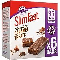 SlimFast Chocolate Caramel Snack Bar Multipack- Box of 30, Bars