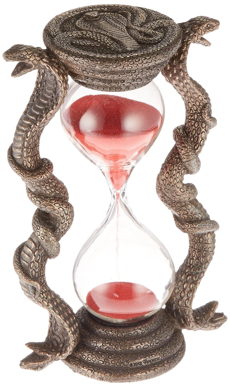 Design Toscano Egyptian Cobra Goddess Sandtimer Hourglass - Set of 2 WU975833