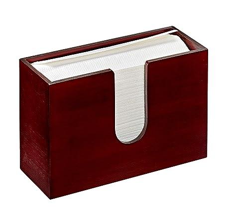 c110df8ef2a AdirHome Bamboo Paper Towel Dispenser 4.8 quot  x 11.6 quot  x 7.8 quot  - Wall  Mount
