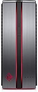 HP Omen 870-213w Desktop PC (256GB+ 1TB Hard Drive i7-7700) Windows 10 (Renewed)