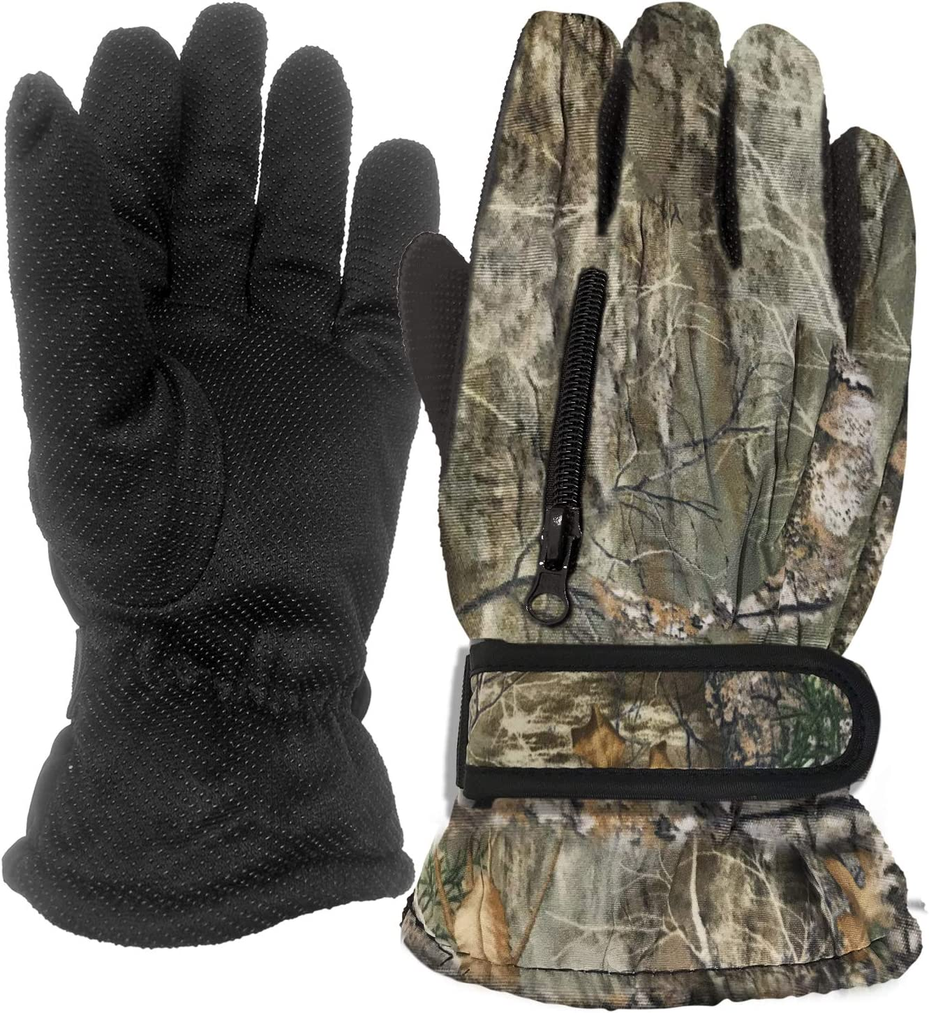 RockJock Mens Thermal Grip Gloves