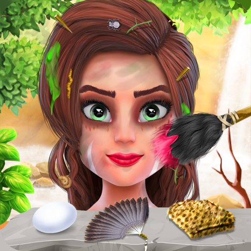 Stone Age Fashion Fever : Cave Girl Game