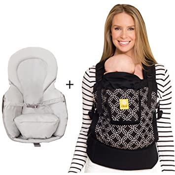 f842f9651d8 Amazon.com   LÍLLÉbaby Bundle of Love - 4 in 1 Essentials Original Baby  Carrier and Infant Insert