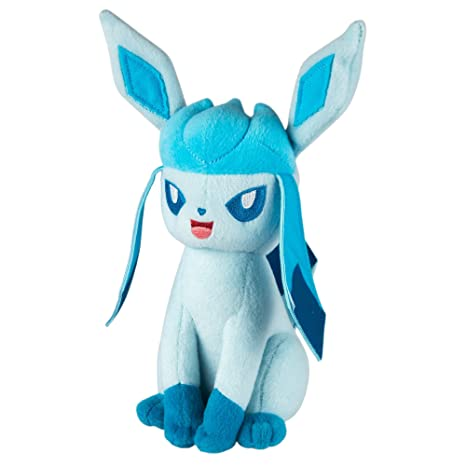 TOMY Pokemon Plush Figure Glaceon 20 cm Peluches