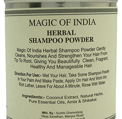 Magic Of India Herbal Fragrance Shampoo Powder With