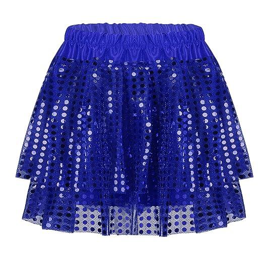 Kids Girls Rainbow Tutu Skirt Tulle Fluffy Princess Dance Dress Party ZG9