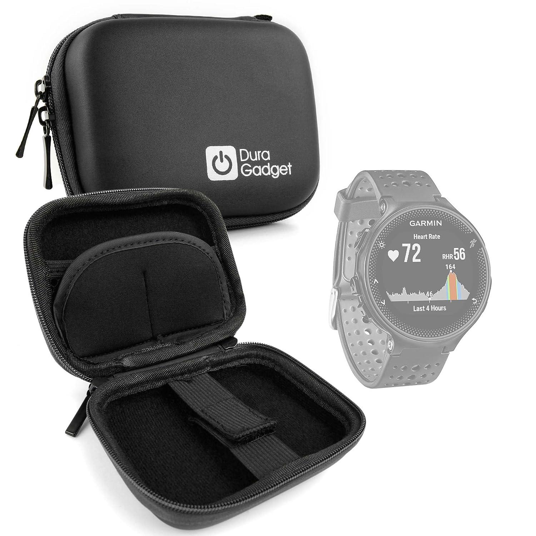 DURAGADGET Estuche Rígido Negro para Smartwatch Garmin Forerunner ...