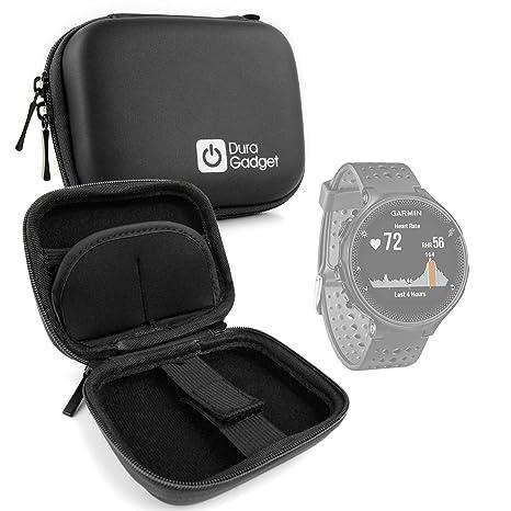 DURAGADGET Estuche Rígido Negro para Smartwatch Garmin ...