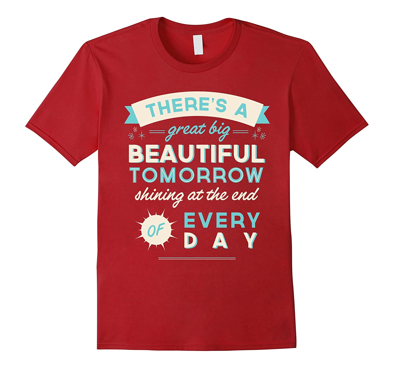 Beautiful Tomorrow t-shirt-TD